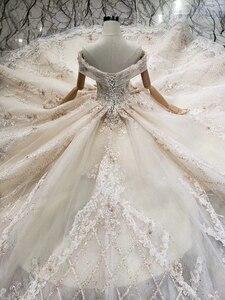 Image 5 - Роскошное Свадебное платье BGW HT43027, 2020 г., Международный модный дизайн, платье для невесты ручной работы, свадебное платье