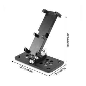 Image 3 - Mavic hava 2 katlanabilir Tablet telefon kelepçe Mavic PRO 2 uzaktan kumanda tutucu DJI Spark için monitör braketi Mavic Mini aksesuarları