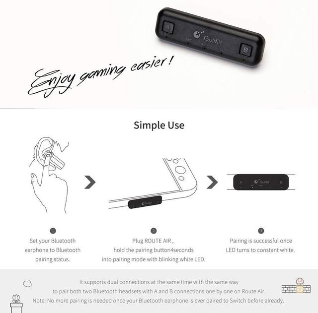 Wireless Audio Transmitter w/APTX Bluetooth Adapter