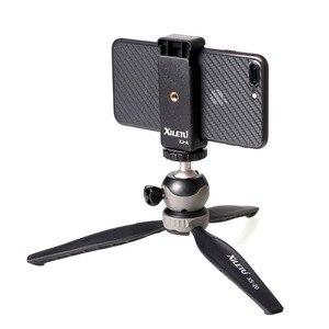 Image 4 - XILETU XS 20 Mini Desktop little Phone Stand Tabletop Tripod for Vlog Mirrorless Camera Smart phone with Detachable Ball head