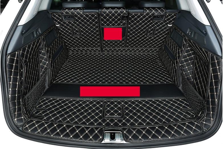 Tapis de coffre de voiture tapis de démarrage durables couverture complète pour audi q5 FY 2018 2019 2020