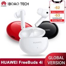 Globale Version HUAWEI FREEBUDS 4i Drahtlose Kopfhörer 10 Stunden Wiedergabe Quick Charge ANC Bluetooth Nette Kopfhörer Headset Ohrhörer