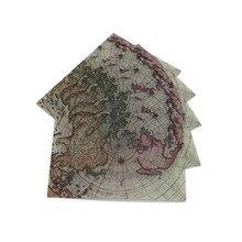 10pcs/lot Vintage Sulfuric Acid Paper Envelopes Globe Map Postcard Invitation Letter Card Paper Greeting Cards Sobres Invitacion цена