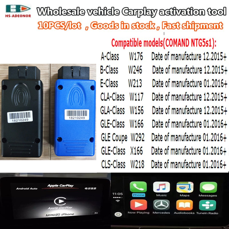 Goods In Stock! A+++ Quality NTG5s1 Is The Vehicle Carplay Apple / Android Auto Activation Tool Wholesale. DHL Fast Shipment