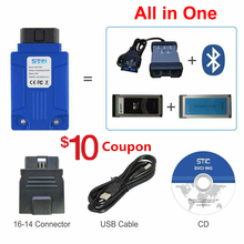 FVDI SVCI ING OBD2 Bluetooth 4.0 Car Automotive Scanner for Nissan Consult 3 Plu