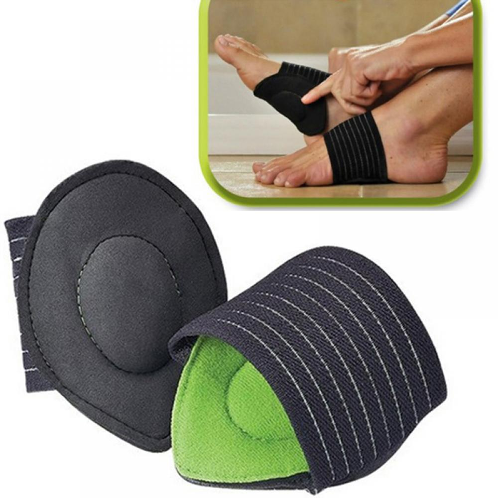 1 Pair Unisex Relief Achy Pain Feet Cushioned Arch Support Protect Foot Healthy Shoe Pad Cushion Flatfoot Corrector