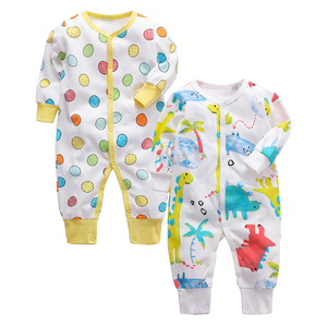 Image 4 - Infant Jumpsuit Newborn Romper Baby Clothing 100% cotton 3 6 9 12 18 24 Months Baby Clothes