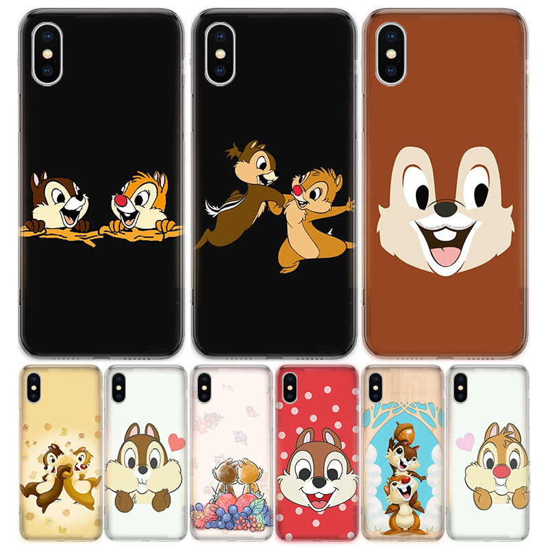 Chip N Dale Phone Case For Iphone 11 5 5s Se 6 6s 7 8 Plus X Xs Xr Pro Max Cover Coque Soft Silicone Tpu Aliexpress