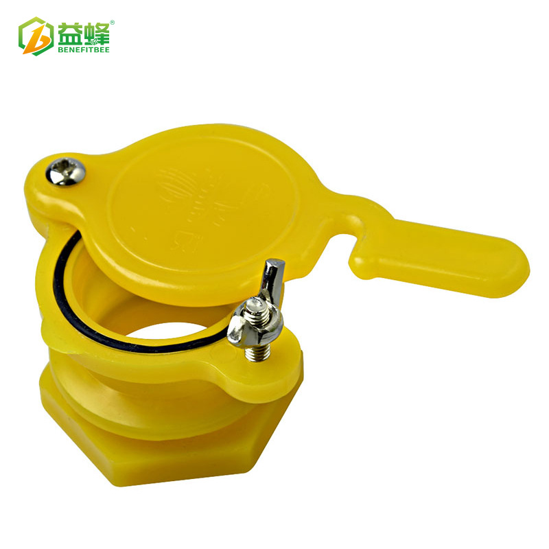 Beekeeping Tools High Quality Honey Extractor Pp Material Flowing With Mouth Yellow Honey Outlet Honey Flow Valve Tap Beekeeping