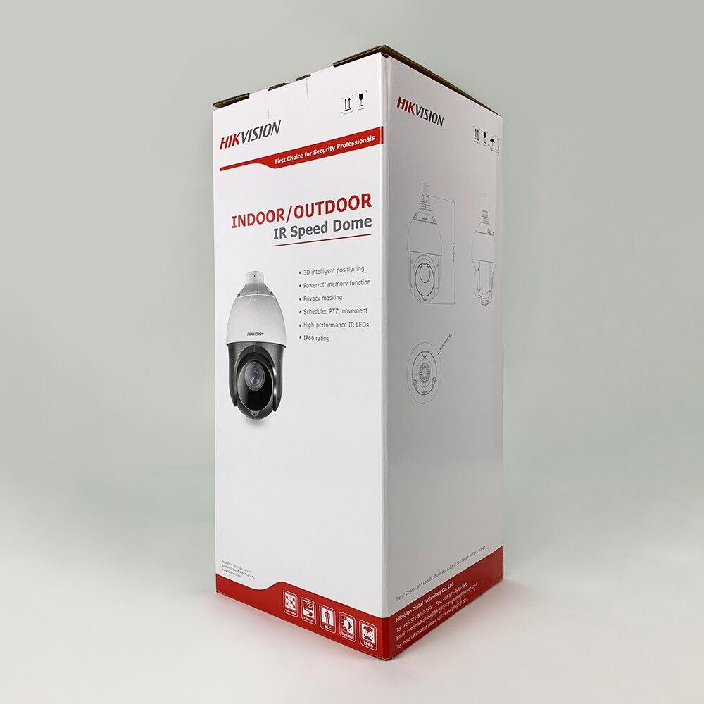 DS-2DE4425IW-DE 4MP 25x réseau IR PTZ caméra de vidéosurveillance Ultra-faible lumière H.265 POE 100m IR caméra de sécurité IP 2