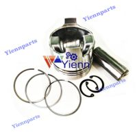 For Toyota 1HZ Piston With Pin Clips and Ring set Diesel Engine Repair Parts