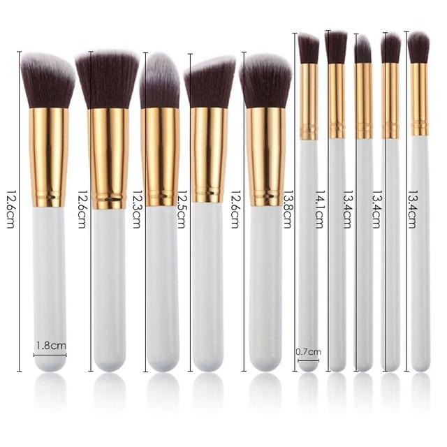 New Makeup Brushes Set Eye Shadow Foundation Powder Eyeliner Eyelash Lip Make Up Brush Cosmetic Beauty Makeup brush Tool Kit Hot 2