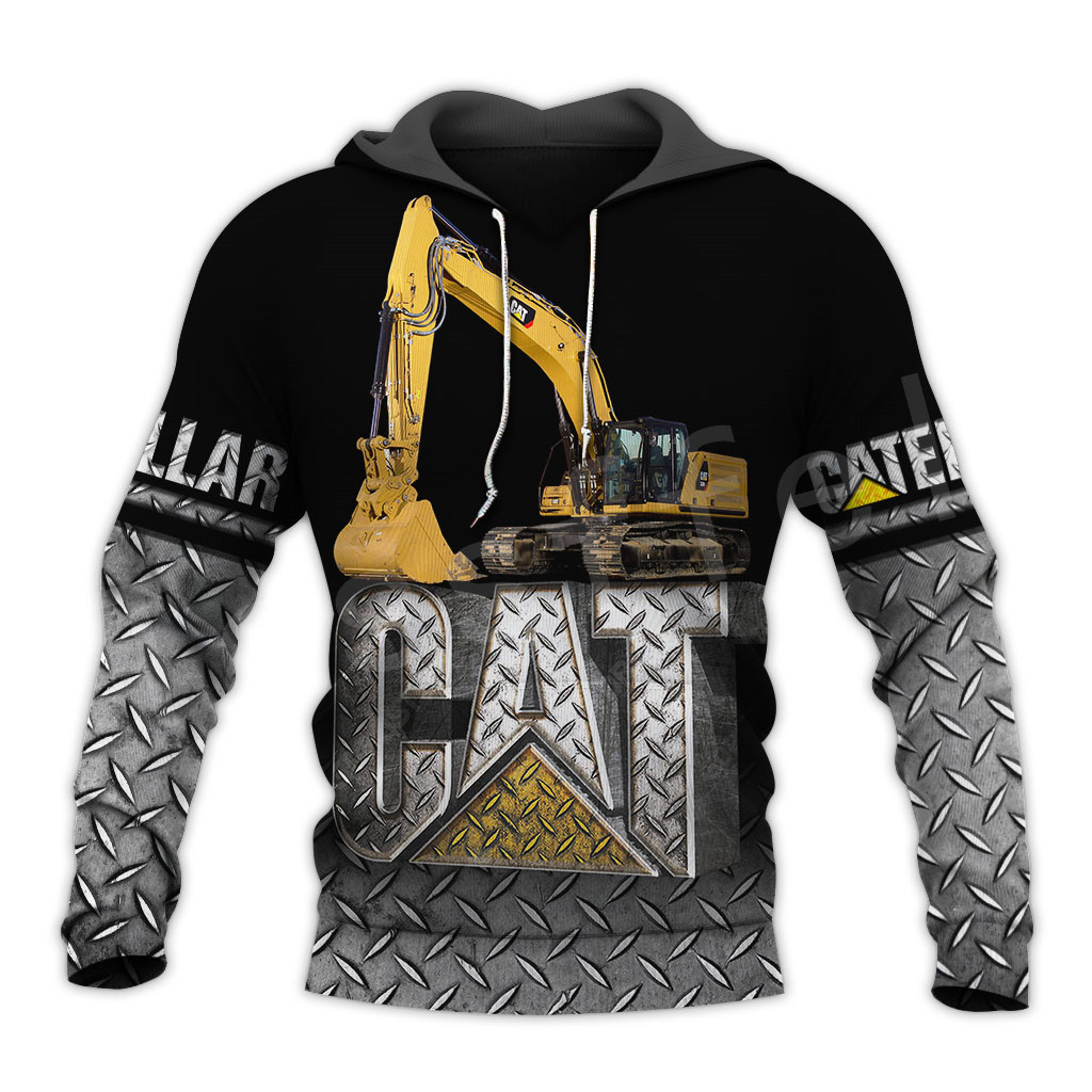 Tessffel Excavator Worker NewFashion Tracksuit Funny Unisex Casual Pullover 3DPrint Zip/Hoodies/Sweatshirts/Jacket/Men/Women A11
