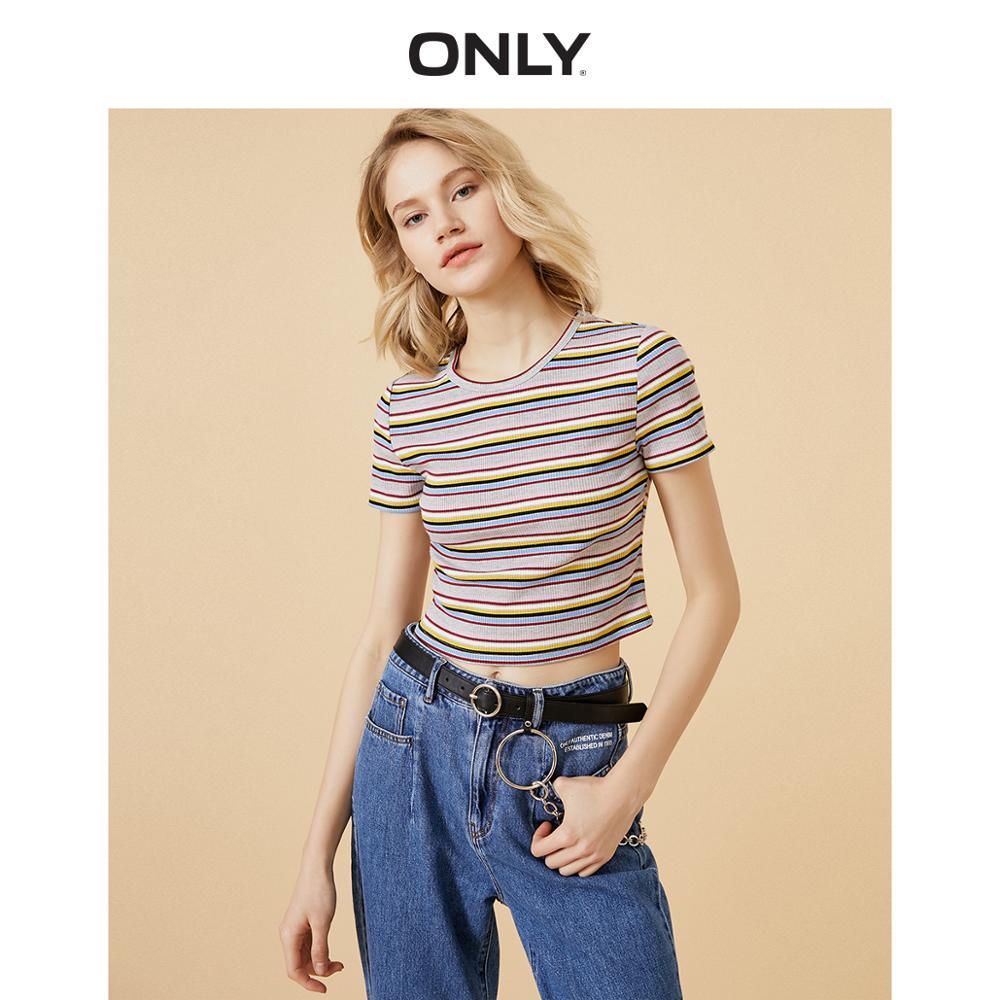 ONLY Women's Striped Short-sleeved T-shirt | 120101618