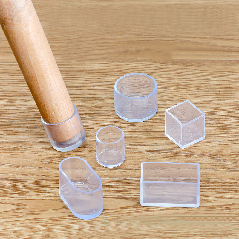 Brand New 16pcs Rubber Chair Leg Caps Non-slip Table Foot Dust Cover Socks Floor Protector Pads Pipe Plugs Furniture Feet