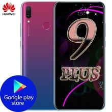 オリジナルhuawei社Y9 2019 スマートフォン 6.5 インチ 4 ギガバイト 128 ギガバイトキリン 710 オクタコアのandroid 8.1 4000 huawei楽しむ 9 プラスコール電話