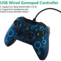 one pc USB Wired Controller for Microsoft Xbox One בקר Controle PC Gamepad Mando עבור Xbox One Slim Console Gamepad ג