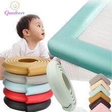 2M תינוק בטיחות פינת מגן שולחן קצה שולחן שומר רצועת ילדי בטוח הגנת קלטת ריהוט פינות זווית הגנה