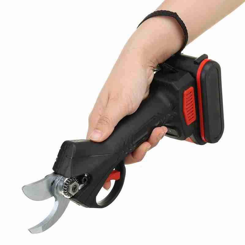 Tools : 88v Electric Pruning Scissors Efficient Garden Landscaping Battery Electric Pruning Shear Tree Scissors Branches Cutter Pru U8F1