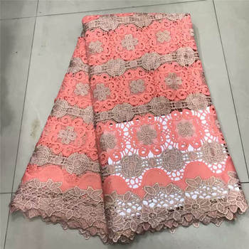 2019 New Design Swiss Tulle Embroidered Net Lace Africa French Lace Fabric High Quality Nigerian French Lace Fabric for dress