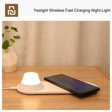 Chargeur rapide sans fil YouPin Yeelight avec veilleuse LED Attraction magnétique charge rapide pour iPhones Huawei