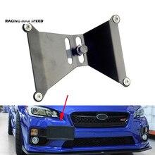 Yarış alüminyum ön plaka tutucu yer değiştirme kiti Subaru WRX STi toyota Scion FRS BRZ