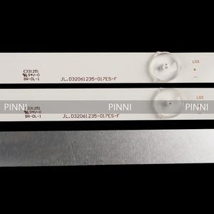 Image 4 - 1 סט = 3 חתיכות HD32 D2 led תאורה אחורית עבור 32 אינץ RH43 D3202X 06A JF JL.D32061235 017ES F 6 נוריות