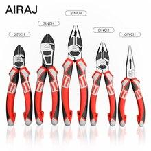 Airaj多機能カッター工業用グレード電線ストリップ圧着万力強力なマニュアルホームの修復ツール