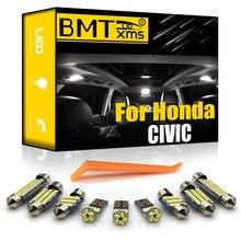 BMTxms Canbus para Honda Civic EG EK 3D 4D 5D 10th sedán Coupe escotilla 1992-2020 vehículo luz Led Interior lámpara de placa de matrícula Kit