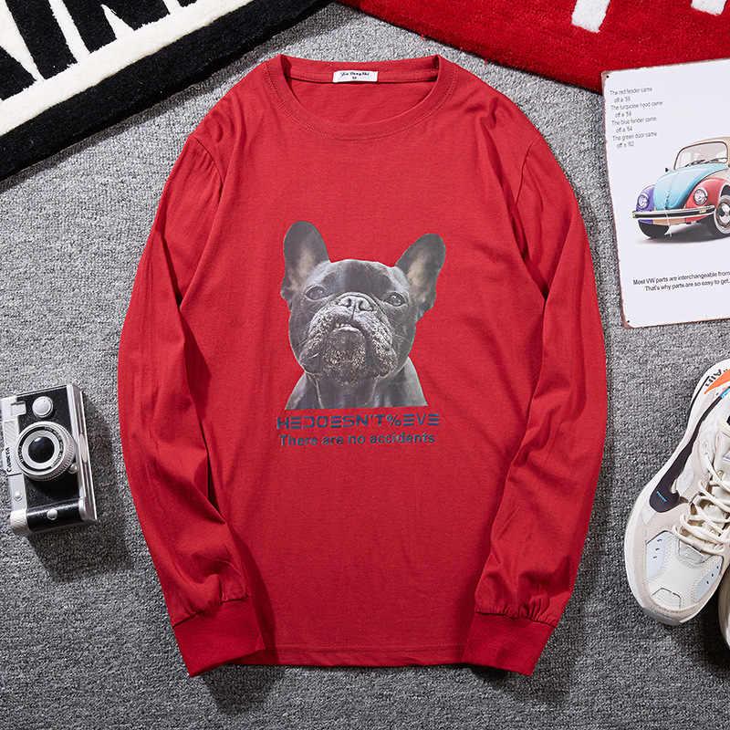 플러스 사이즈 큰 8XL 10XL 12XL 남자 티셔츠 긴 소매 가을 티셔츠 코튼 홈 티셔츠 탑스 54 52 56 62 64 66 68 150KG 160KG