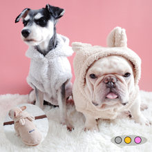 Одежда для щенков собак французского бульдога зимняя теплая