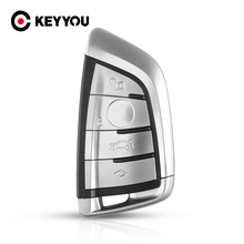 Keyyou Afstandsbediening Sleutel Shell Case Fob Voor Bmw X5 F15 X6 F16 G30 7 Serie G11 X1 F48 F39 4 knoppen Accessoires Auto Styling