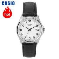 Zegarek casio prosty cyfrowy kalendarz biznesowy męski zegarek MTP 1183E 7B w Zegarki kwarcowe od Zegarki na