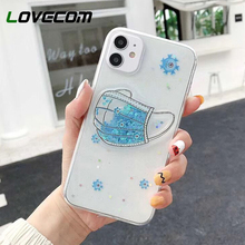 LOVECOM Mask Printed Phone Case For iPhone