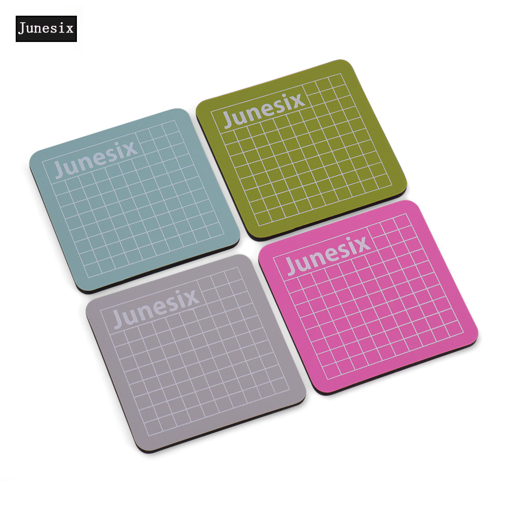 Mini 4Pcs Cutting Mat Replacement Healing Cutting Mat  Double Sided With Grid Design Non-slip PVC For Arts & Crafts Projects