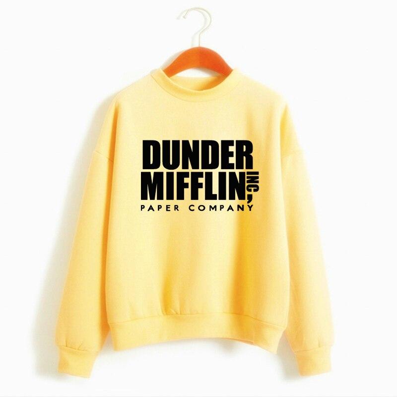 Tops The Office Tv Hoodie Men Women Dunder Mifflin Inc Paper Company Wernham Hogg TV Show Michael Scott Space Sweatshirt 10