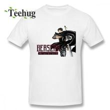 Fashion For Boy Berserk Guts T Shirt Popular Streetwear Pure Cotton Tees