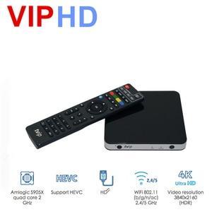 Image 1 - ТВ приставка vip605, ТВ приставка Linux, 4K, ОТТ, 8 ГБ, медиаплеер Amlogic S905X, Tvip S Box V.605, Tvip 605, Smart Tv приставка, 2020