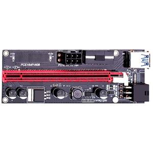 Image 5 - Adaptateur USB 3.0 VER009S PCI E Riser VER 009S Express 1X 4x 8x 16x, carte SATA 15 broches à 6 broches, câble dalimentation 6 pièces/lot