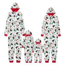 Пижамный комбинезон для детей и взрослых aa 2020 с длинным рукавом