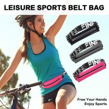 Waist Bag Belt Sport Waist Bum Belt Bag Running Jogging Hiking Zip Fanny Pack Pouch Waistbag Fanny Pack Color Travel Accessory(China)