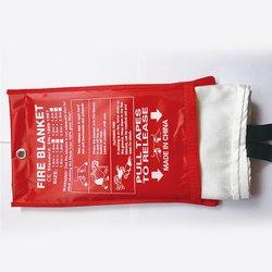 1.5Mx1.5MFire koc z włókna szklanego ognioodporny  awaryjne Survival ogień schronienie osłona bezpieczeństwa ogień koc ratunkowy|Koce gaśnicze|   -