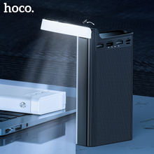 HOCO 30000mAh Power Bank table lamp 30000 mAh Powerbank For Xiaomi iPhone 11 Samsung Portable External Battery Charger Poverbank