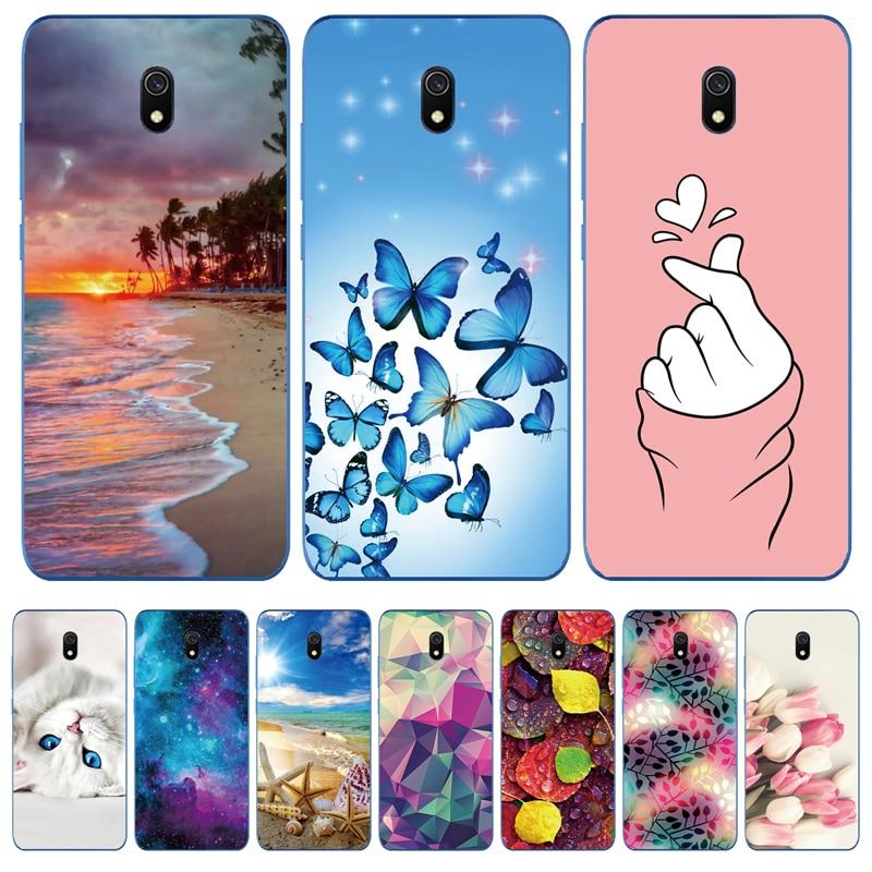Funda transparente con flores para Xiaomi Redmi 4X 5Plus 5A 6 6A 7 7A 8 8A Note 5 6 7 8T 9S Pro|Fundas antigolpes para teléfono| - AliExpress