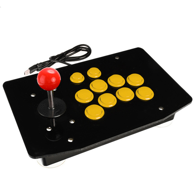 Arcade Joystick 10 Buttons USB Fighting Stick Joystick Gaming Controller Gamepad Video Game For PC Consoles