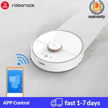 Roborock S50 S55 Xiaomi Robot Vacuum Cleaner 2 for Home Mi Smart Carpet Cleaning Dust Sweeping Wet Mopping Robotic Planned Clean(China)