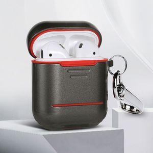 Wysokiej jakości aluminiowe silikonowe słuchawki ochronne etui na słuchawki Bluetooth do AirPods