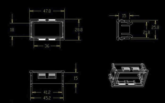 H12b59113bbc743269ad6fb0281d89211B Mini DC 4V-28V 0.28 inch LED Dual Display Digital Thermometer w/ NTC Waterproof Metal Probe Temperature Sensor Tester For Indoor