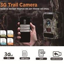 S880g 3g grande angular caça câmera 12mp 1080p wildlife trail jogo câmera infravermelho 56pcs led visão noturna foto armadilhas caça chasse