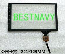 Freies verschiffen 9 zoll touchscreen digitizer 221*129mm für kl090hi395201 auto DVD system LCD DISPLAY